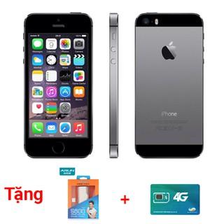 Điện thoại iphone 5s black quốc tế hàng chính hãng 99% – Tặng sạc dự phòng + Sim 4G