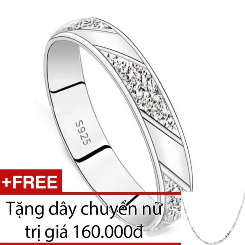 Nhẫn nữ Bạc Hiểu Minh nu291 Tặng dây chuyền nữ bạc giá 160k - 3072867 , 338670437 , 322_338670437 , 280000 , Nhan-nu-Bac-Hieu-Minh-nu291-Tang-day-chuyen-nu-bac-gia-160k-322_338670437 , shopee.vn , Nhẫn nữ Bạc Hiểu Minh nu291 Tặng dây chuyền nữ bạc giá 160k