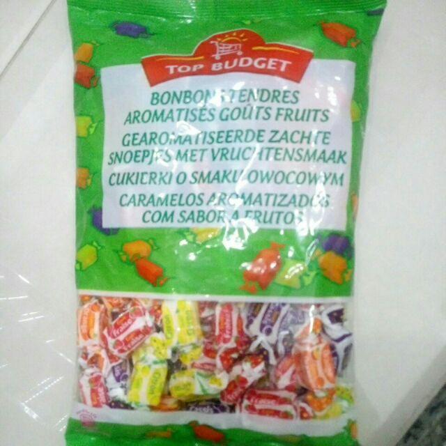 Kẹo mềm Topbudget hỗn hợp trái cây 475g(Pháp)