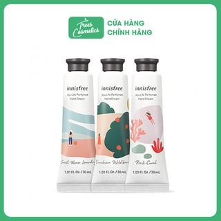 Kem Dưỡng Da Tay Cấp Ẩm, Làm Mềm Da Innisfree Jeju Life Perfumed Hand Cream 30ml - Hàn Quốc Chính Hãng