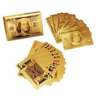 Bộ bài tây mạ vàng cao cấp ( Hình Euro )