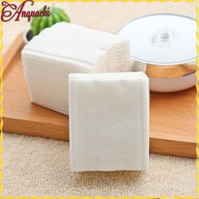 Bông tẩy trang cotton pads 222 miếng dày 3 lớp, ép viền chắc chắn - Chất bông dai, không bị tơi ra khi sử dụng Anquachi