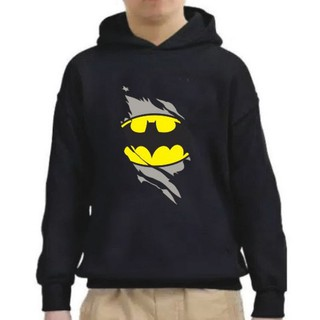 Áo khoác hoodie in hình nhân vật SUPER HERO BATMAN SWEATER cho bé trai từ 6-10 tuổi thumbnail