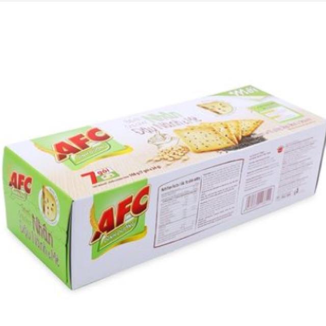 Bánh AFC dinh dưỡng đậu nành mè Kinh Đô 168g