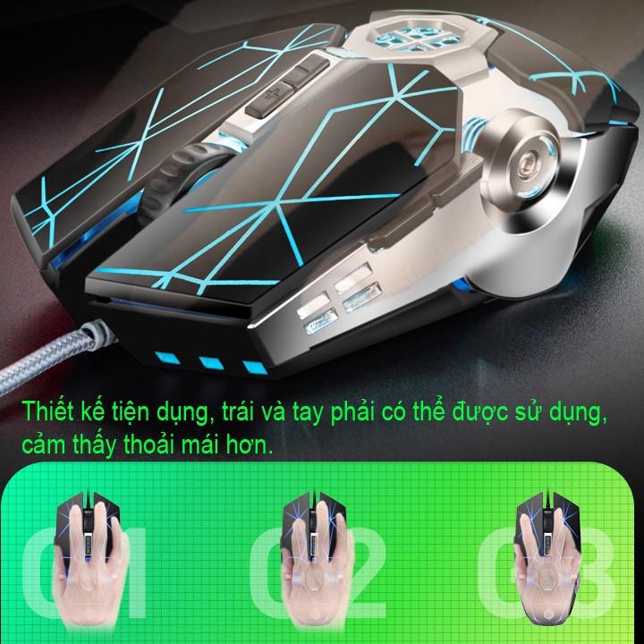 [SIÊU CHẤT QUẢ ĐẤT ]Chuột chuyên game K-SNAKE Q7 CHUỘT ĐỈNH CHO DÂN PUBG & FPS