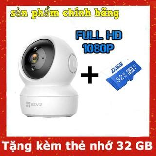 [Mã 157ELSALE hoàn 7% đơn 300K] Camera Ezviz C6N 1080p Tặng thẻ nhớ 32G thumbnail