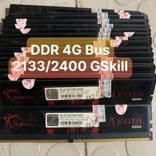 Ram DDR4 G.Skill Aegis(Ripjaws) 4GB - Bus 2133-2400 Tản Nhiệt Lá Và Thép Đẹp Không Kén Main - Vi Tính Bắc Hải thumbnail