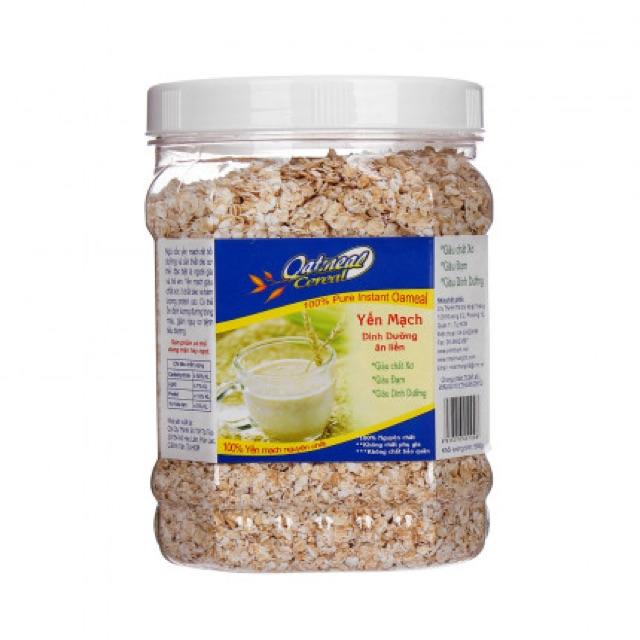 Yến mạch ngũ cốc ăn kiêng hộp 500g Yến mạch ngũ cốc ăn kiêng hộp 500g