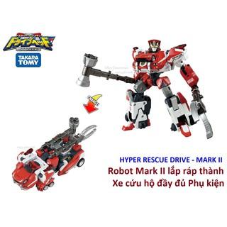 Robot cứu hộ Mark II đầy đủ Phụ kiện - Takara Tomy Hyper Rescue Series thumbnail