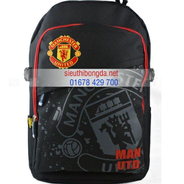 Balo Manchester united đen