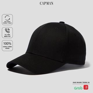 Mũ lưỡi trai CAPMAN chính hãng full box, nón kết trơn basic ullzang vải kaki CM99 nhiều màu thumbnail