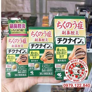 Viên uống xoang Nhật bản Kobayashi Chikunain 56/112/224 viên