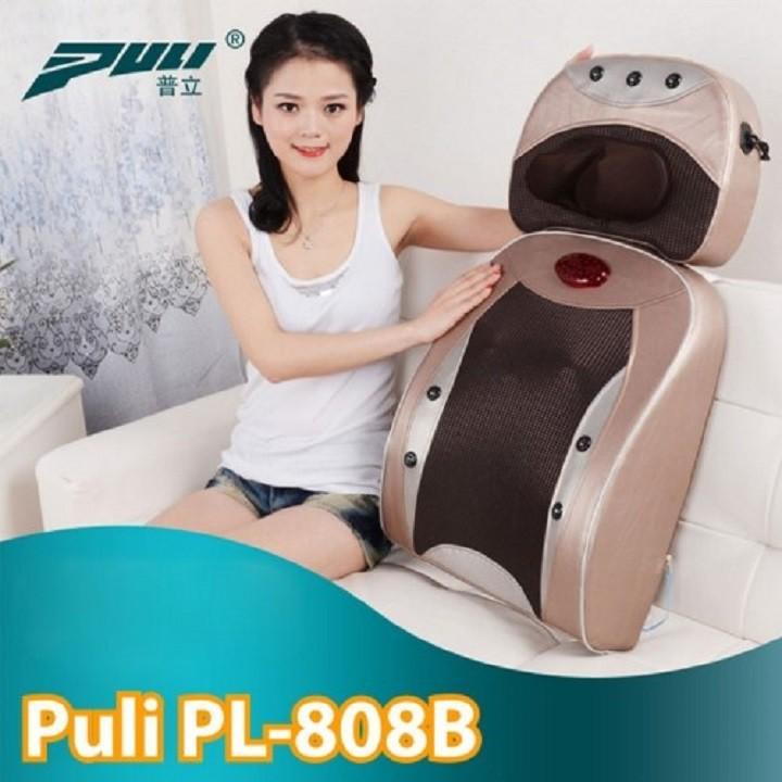 Máy Massage Lưng & Cổ 2in1 Hồng Ngoại Puli PL-808B Chính Hãng