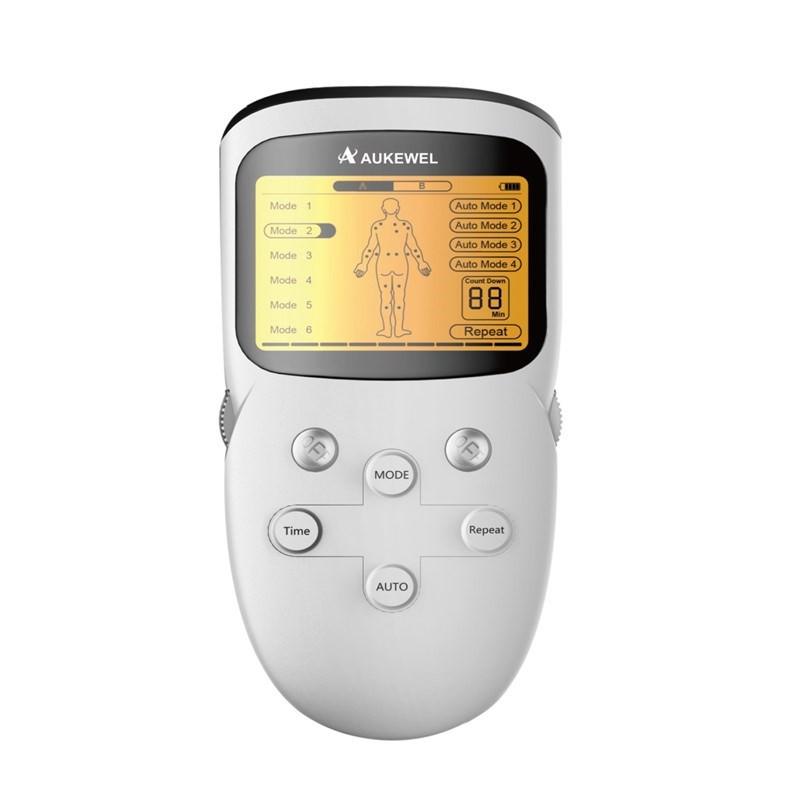 Máy massage xung điện 8 miếng dán Aukewel DR Phone (Sử dụng pin sạc như điện thoại di động)