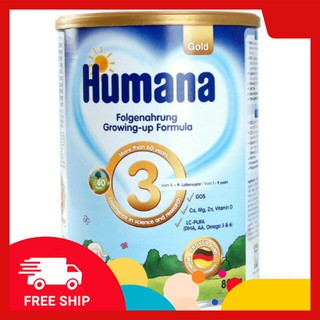 Sữa Humana Gold số 3 lon 800g