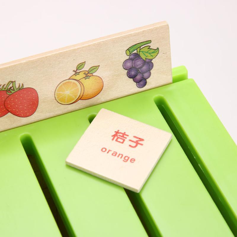 Montessori Early Educational Puzzles Toys For Children Intelligence Learning Puzzle Wooden Creature Cartoon 3D