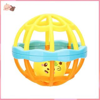 【promotion】Newborn Toy Baby Toys Puzzle Hand Ball Hole Ball Rattle Soft Ball interactive
