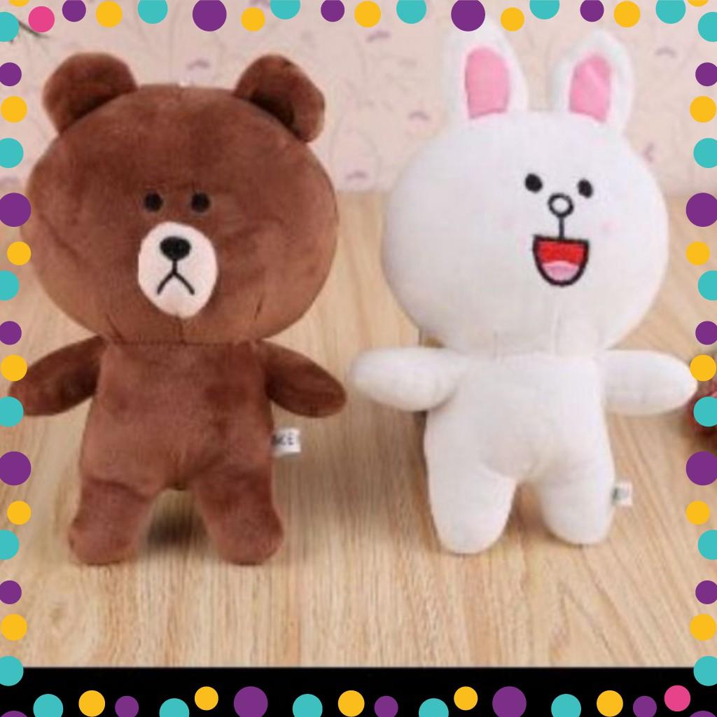 [FREESHIP] (Tặng kèm 2 áo gấu )Combo 2 Gấu Brown +Cony siêu đáng yêu