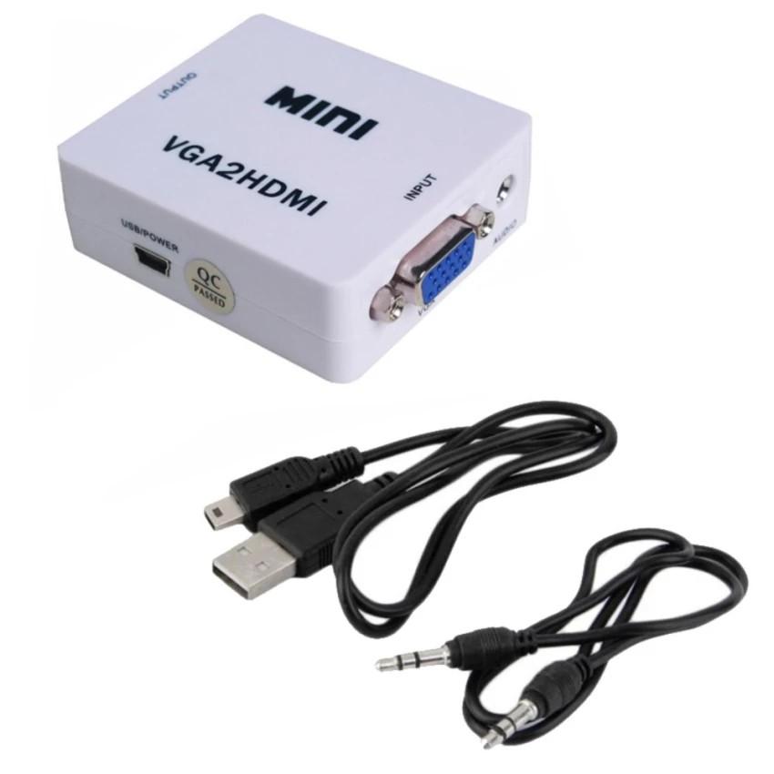 Bộ chuyển tín hiệu từ VGA sang HDMI loại nhỏ OEM (Trắng) -dc896 - 2582087 , 830954193 , 322_830954193 , 119000 , Bo-chuyen-tin-hieu-tu-VGA-sang-HDMI-loai-nho-OEM-Trang-dc896-322_830954193 , shopee.vn , Bộ chuyển tín hiệu từ VGA sang HDMI loại nhỏ OEM (Trắng) -dc896