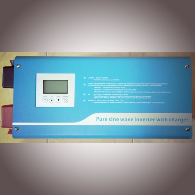 Inverter for Solar Cell,อินเวอร์เตอร์ 5000W,อินเวอร์เตอร์โซล่าเซลล์