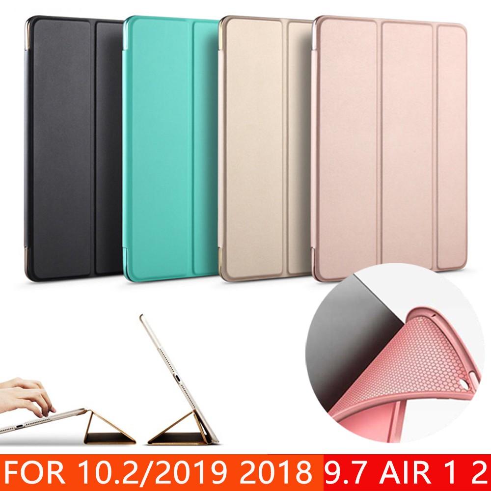 Bao da PU máy tính bảng đệm silicon mềm dành cho ipad 2 3 4 mini 1 2 3 ipad mini 4 air 1 ipad 5 air 2 ipad 6