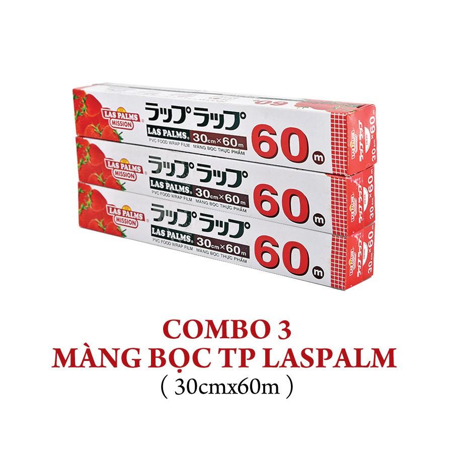COMBO 3 Màng bọc TP Laspalm 30cmx60m