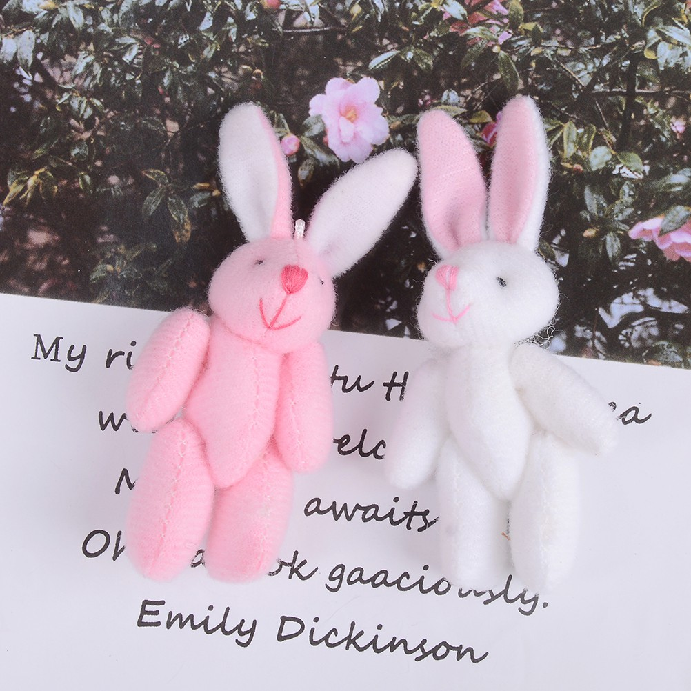 Baω Mini 6cm cute rabbit plush stuffed baby toy dolls for kids candy box gifts toys ωby
