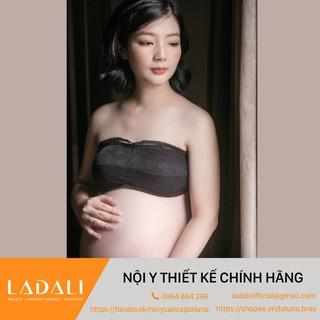 [Mã LADALI30 HOÀN 30% XU] Áo quây, áo ống cho mẹ bầu chống chảy xệ, hàng thiết kế + Quần lót bầu – B03 đen