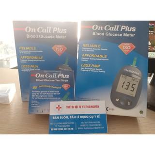 Máy đo đường huyết và que thử máu Acon On call Plus 10 kim 25 que test thumbnail