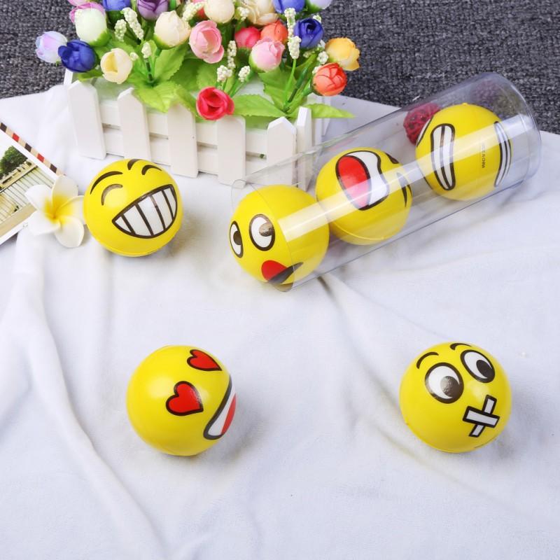 BOBORA 3 Pcs Soft Hand Wrist Exercise Funny Balls Decompression Squeeze Toys