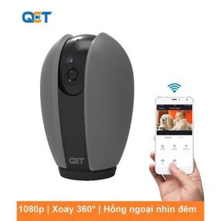 Camera IP xoay 360 ĐỘ QCT 1080P GEN2 Quốc Tế thumbnail
