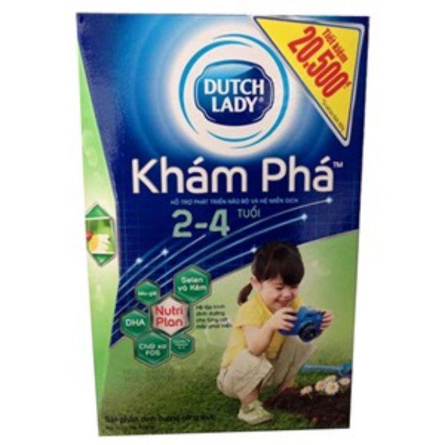 Sữa Dutch Lady Khám Phá 400g 2-4 tuổi