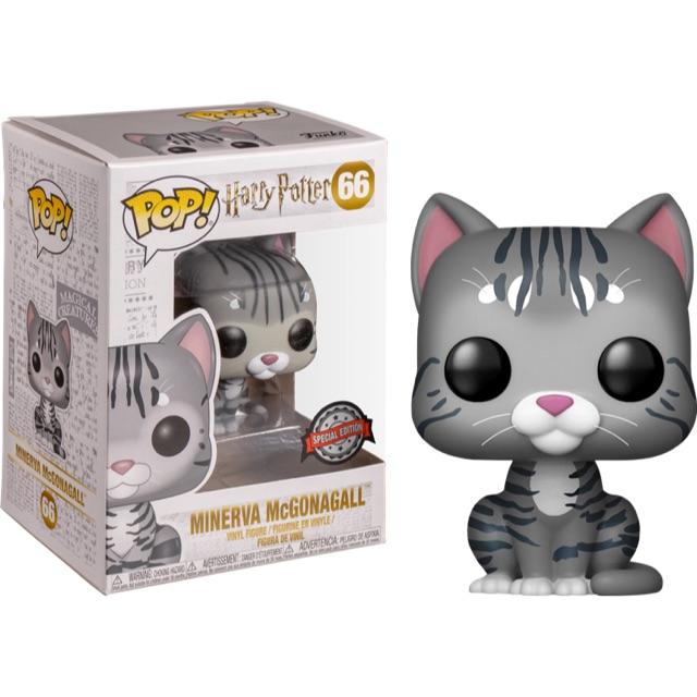 {IN-STOCK} พร้อมส่ง Funko Pop! HARRY POTTER : Minerva McGonagall As Cat Exclusive #66