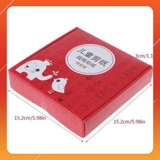 [SIÊU RẺ] Combo 2 bộ đồ chơi cắt giấy tạo hình đa dạng 240 tờ tặng kéo – CHẤT LƯỢNG CAO