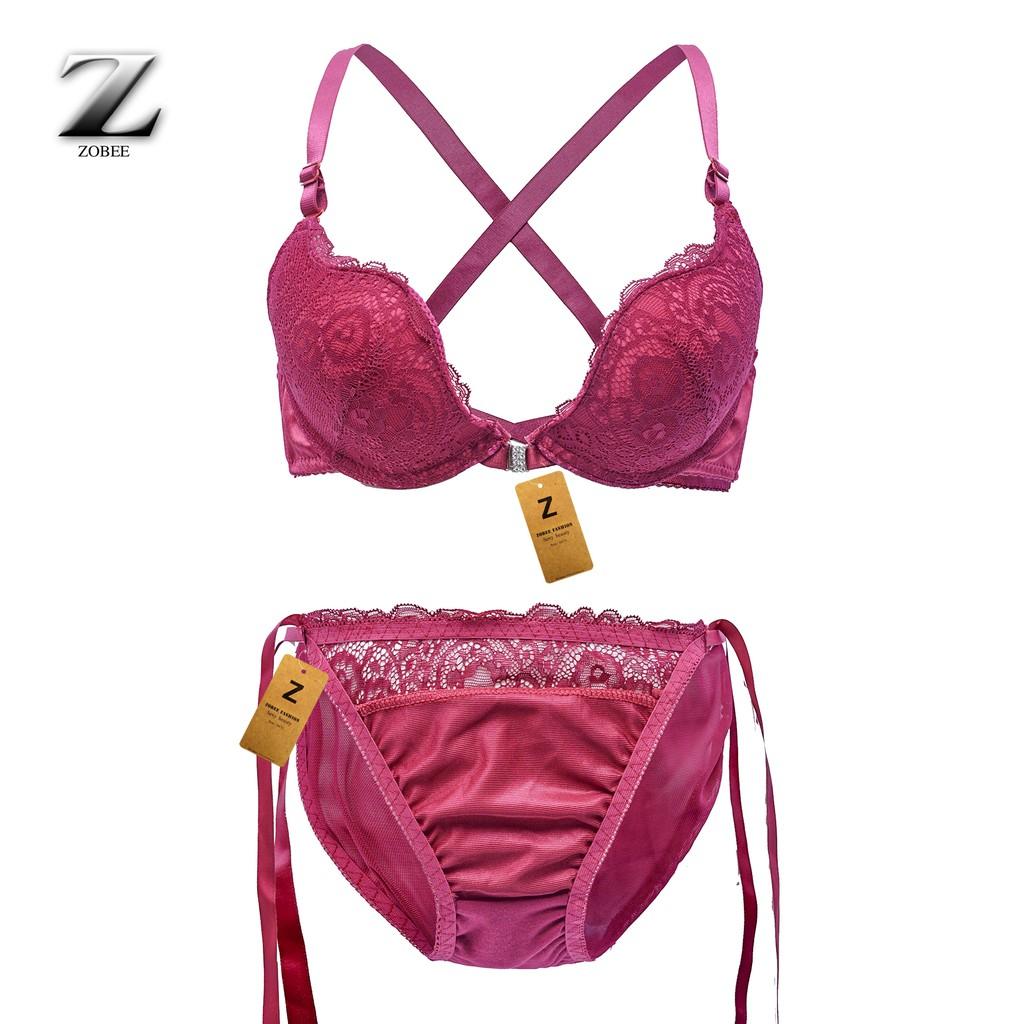 ZOBEE Bộ đồ lót nữ ren đệm vừa BĐL 7302 | WebRaoVat