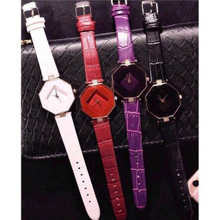 Đồng hồ thời trang nữ bát giác Pinbo O99