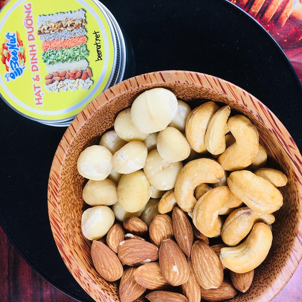 Mixed Nut 3 loại hạt dinh dưỡng - Hỗn hợp các loại hạt (Macca, Hạnh Nhân, Hạt Điều)