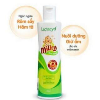 Sữa tắm lactacyd milky 500ml