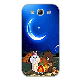 Ốp lưng dẻo Samsung S3 – Brown Cony Đàn