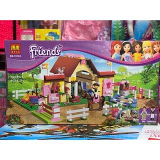 Đồ chơi trẻ em xếp hình lắp ghép Lego Friends BELA 10163