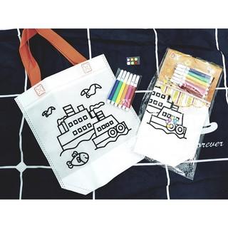 [G01] DIY graffiti bag – Tô màu túi sáng tạo
