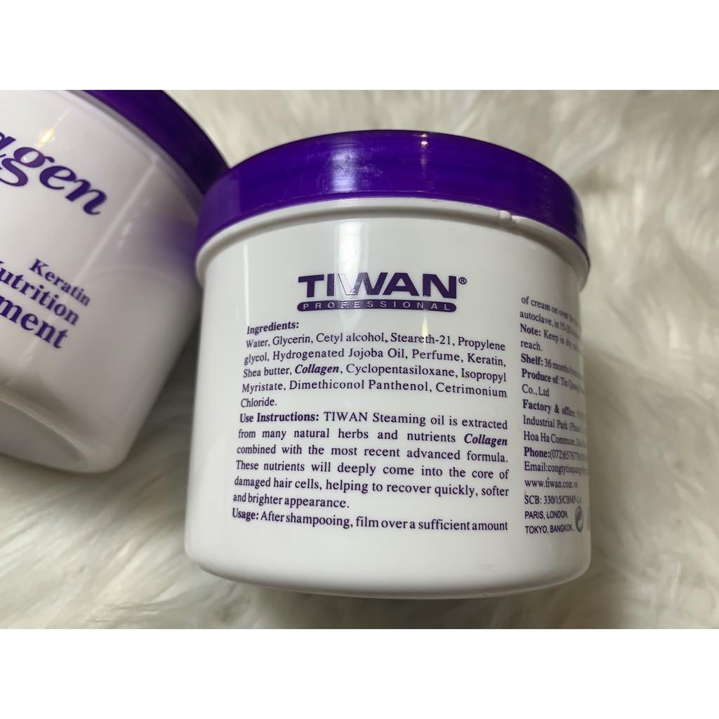 Hấp Dầu Collagen Tiwan Nutrition 500ml Siêu Bóng Mượt