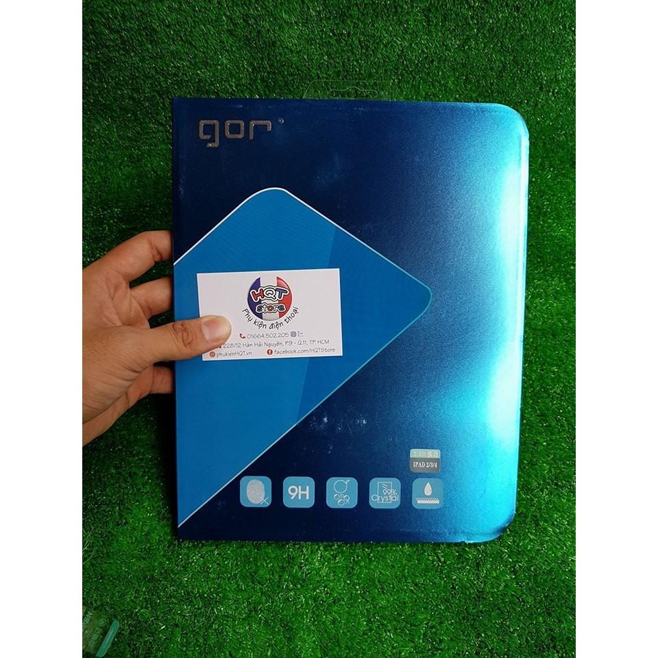 Kính cường lực Gor 9H cho Ipad Pro 10.5 / Pro 9.7 / Air 2 / Air 1 / 4 / 3 / 2 / 1 / Mini 1 / Mini 2