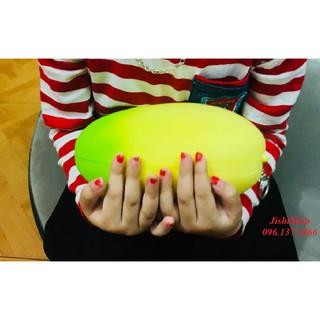 ( xanh vàng ) squishy quả xoài màu vàng xanh dùng làm quà tặng, xả stress