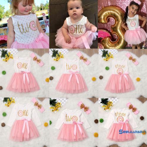 Set váy và băng đeo đầu dễ thương cho bé gái