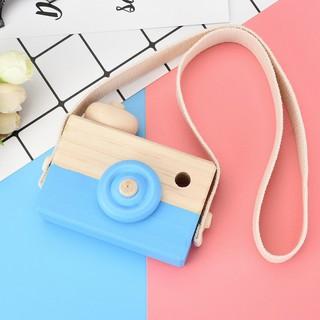 Máy ảnh đồ chơi bằng gỗ có dây đeo cổ cho trẻ mã sp IW9978