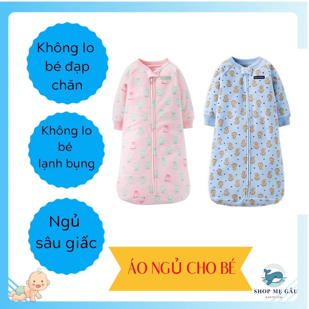 Túi ngủ cho bé 👶RẺ VÔ ĐỊCH👶 Áo ngủ cho bé hàng xuất Cambodia nỉ bông mềm mịn