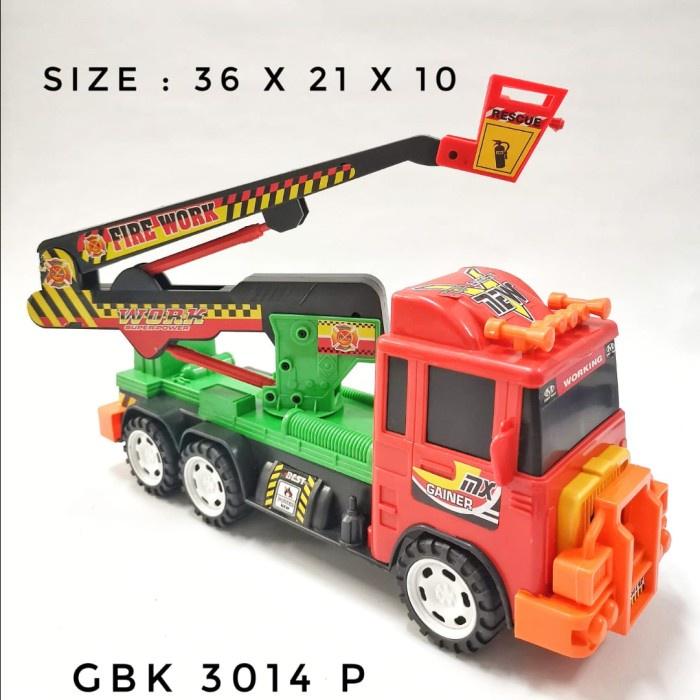 Mô hình xe cứu hỏa đồ chơi GBK 3014 P cho bé