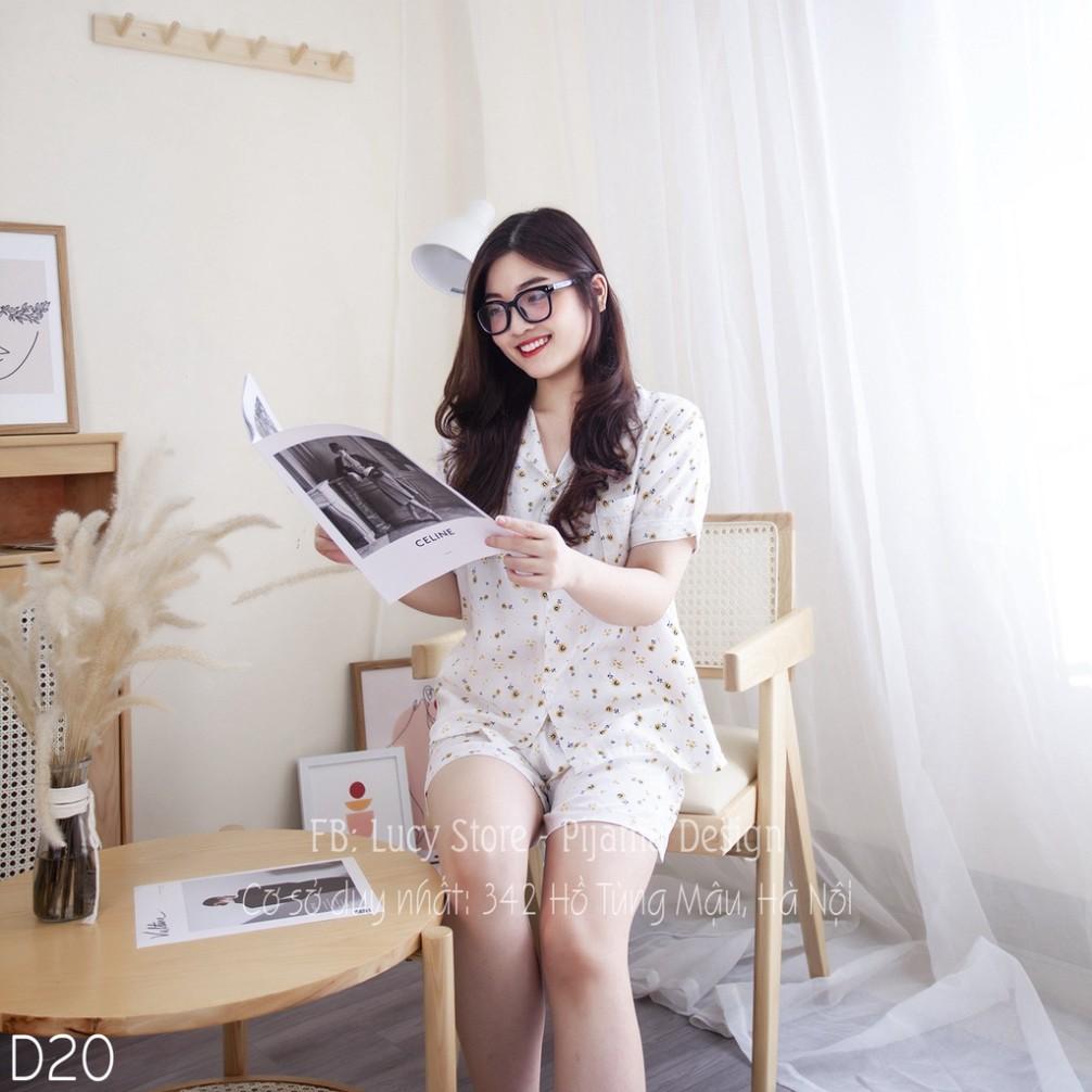 Mặc gì đẹp: Gọn tiện với Đồ Bộ Cao Cấp - Bộ Ngủ Pijama Nữ Lụa Nhập Cao Cấp Chất Vải Mềm Mướt Siêu Thoáng Mát Thiết Kế Trẻ Trung Mặc Ở Nhà