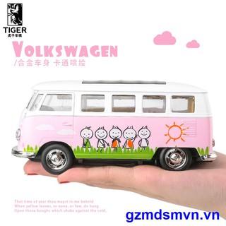 VOLKSWAGEN Mô Hình Xe Buýt Đồ Chơi Volkswagen T1 Bằng Hợp Kim